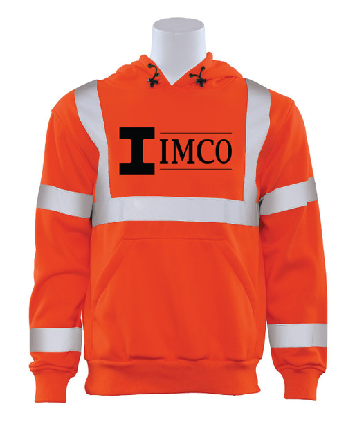 IMCO ANSI 107 Safety Orange Hoodie