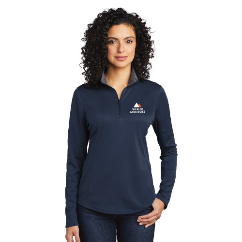 Wealth Strategies Ladies Quarter Zip