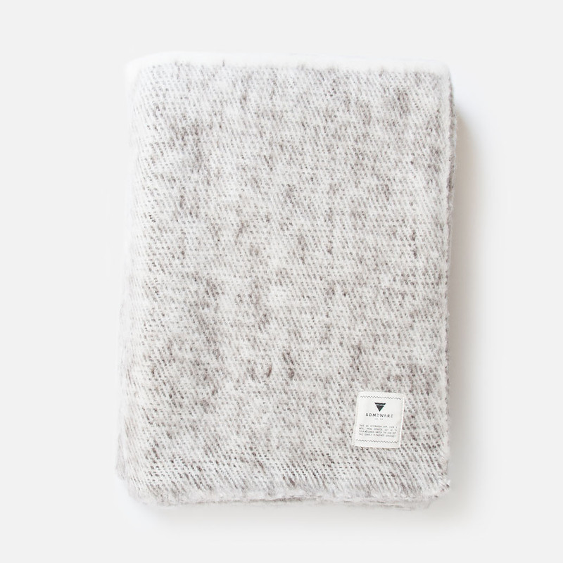 Sabana Marbled Wool Throw