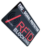 RFID / NFC SIGNAL BLOCKING & CREDIT CARD SECURE PROTECTOR