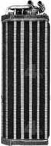 4-Seasons A/C Evaporator - Tube and fin flow