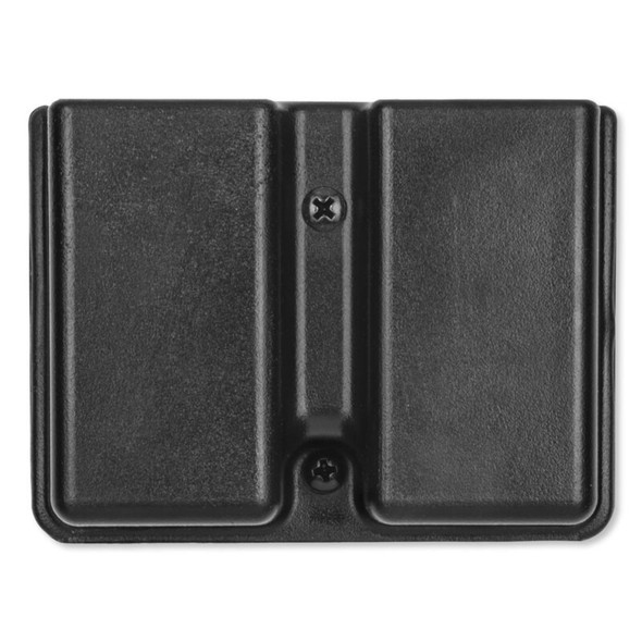Uncle Mikes Kydex Double Mag Case Double Stack Belt Loop Blk