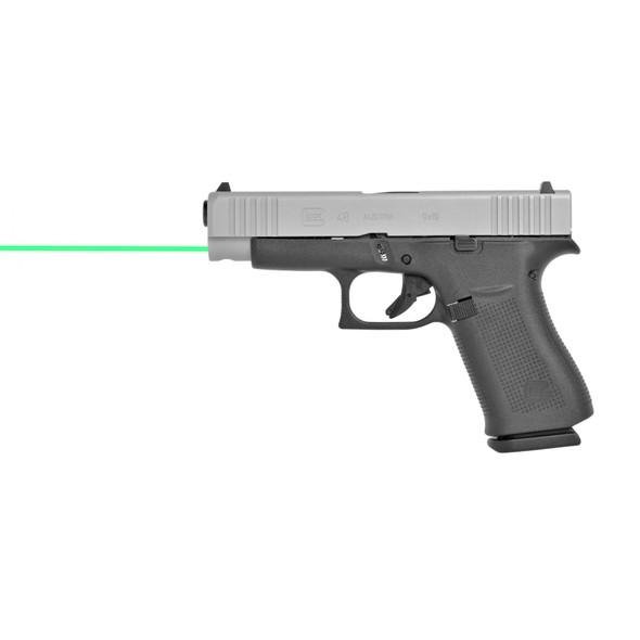 LaserMax Guide Rod Laser Green Glock 43 43X 48