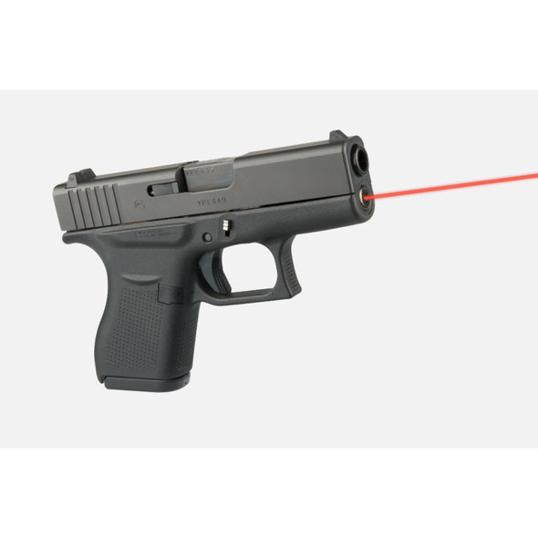 LaserMax Guide Rod Laser Red Glock 43 43X 48