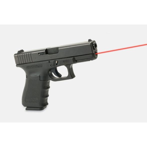 LaserMax Guide Rod Laser Red Glock 19 Gen 4