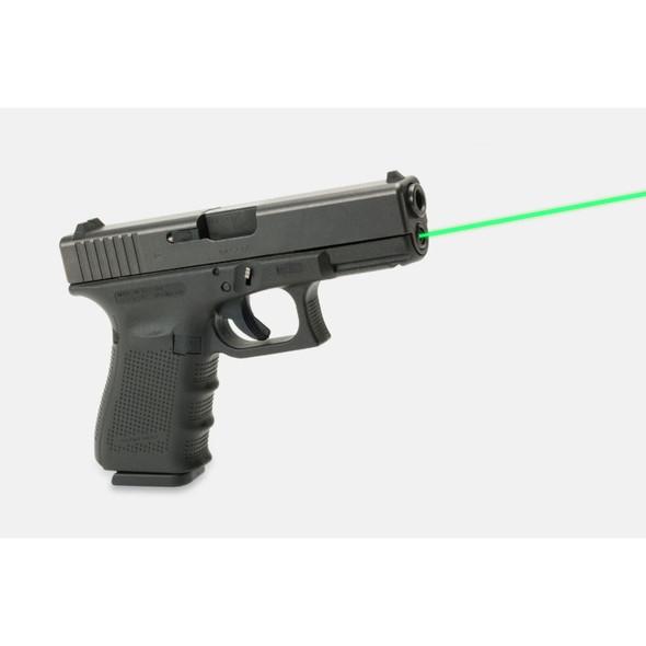 LaserMax Guide Rod Laser Green Glock 19 Gen 4