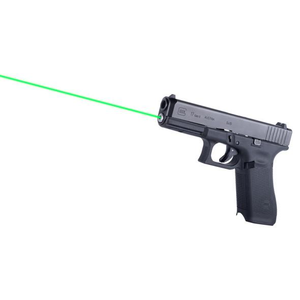 LaserMax Guide Rod Laser Green Glock 17 17 MOS 34 MOS Gen 5