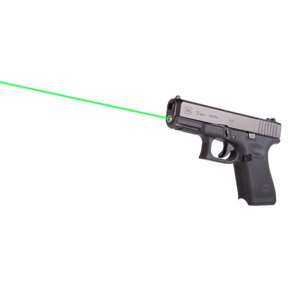 LaserMax Guide Rod Laser Green Glock 19 19 MOS Gen 5 19X 3.5