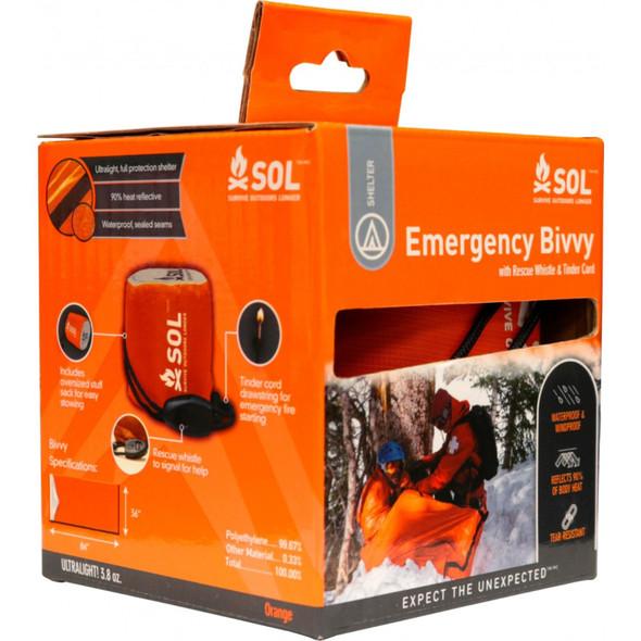 SOL Emergency Bivvy Orange - 1130808