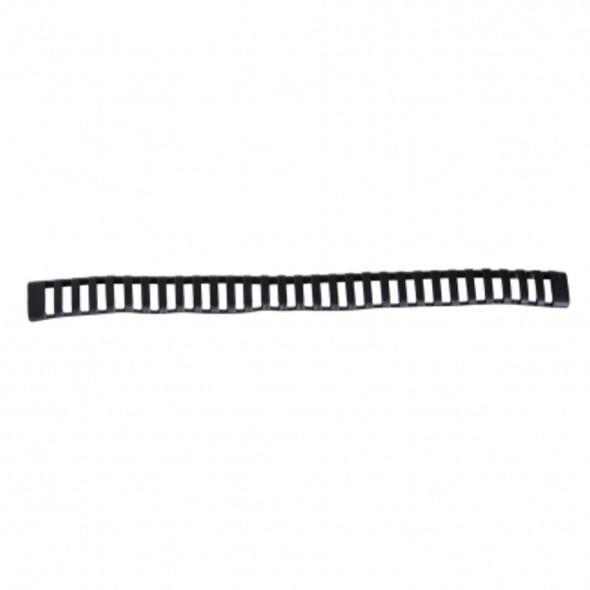 Vism 30 Slot Ladder Rail Cover Black