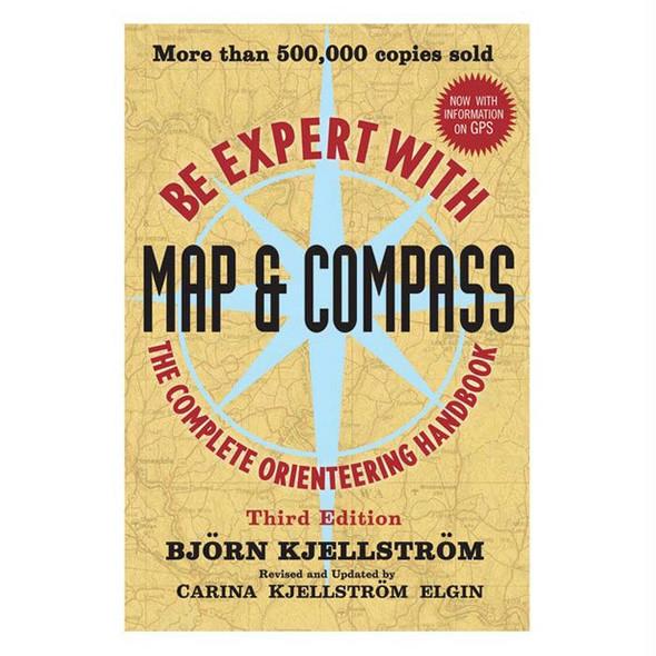 BE EXPERT W/MAP & COMPASS BOOK