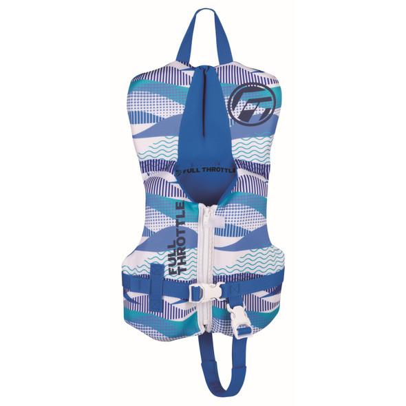 Full Throttle Infant Rapid-Dry Flex-Back Life Jacket Blue