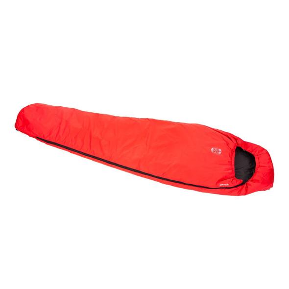 Snugpak Softie 3 Solstice Sleeping Bag Red LH Zip