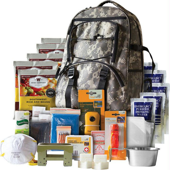 5 DAY SURVIVAL BACKPACK - CAMO