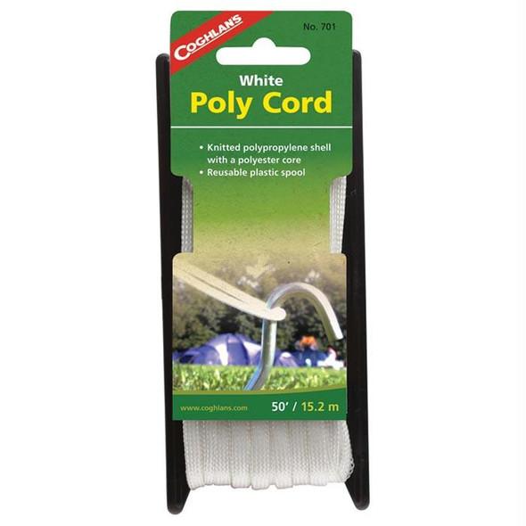 POLY CORD WHITE 50'