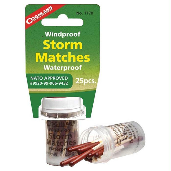 WIND/WATERPROOF STORM MATCHES