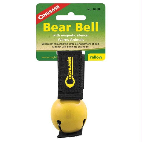 MAGNETIC BEAR BELL YELLOW