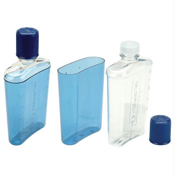 FLASK GLACIER BLUE 10 OZ