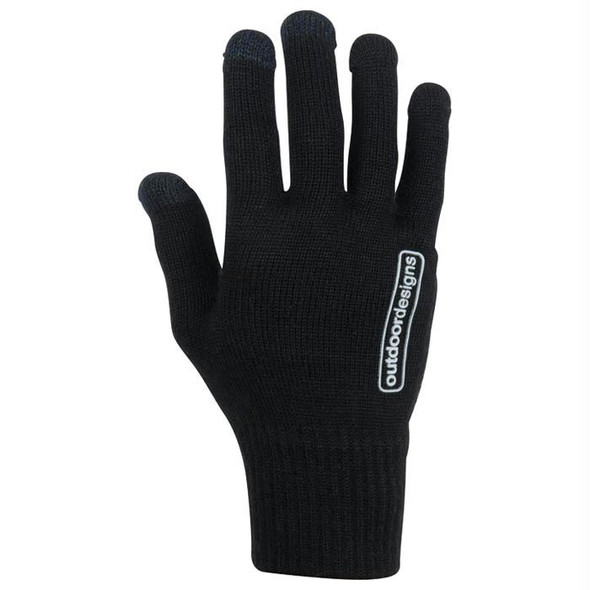 STRETCH WOOL TOUCH BLACK