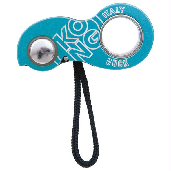 DUCK ROPE CLAMP/ASCENDER CYAN