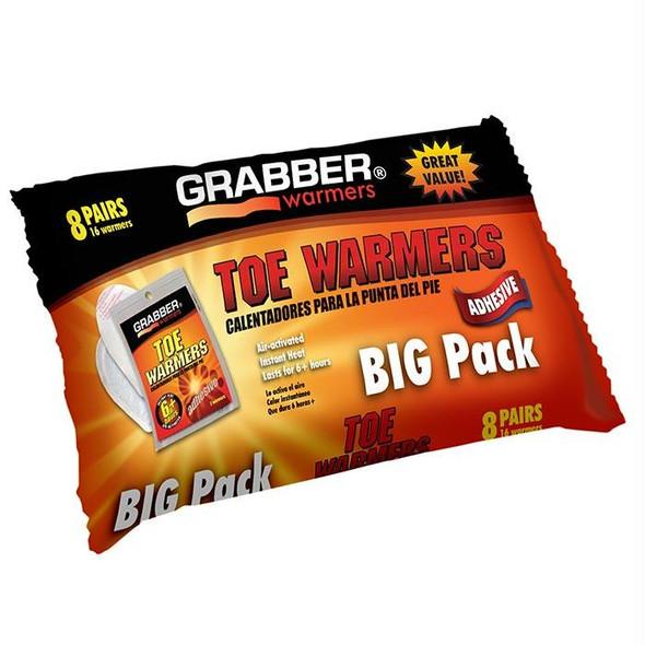 GRABBER TOE WARMERS - 8 PK