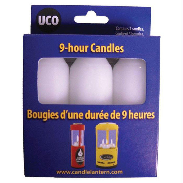 REPLACEMENT CANDLES 3 PK