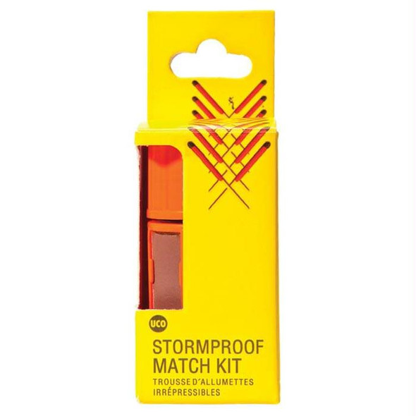 UCO STORMPROOF MATCH KIT ORG