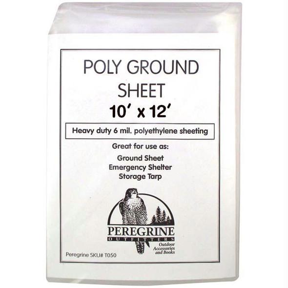 POLY GROUND SHEET 10 X 12