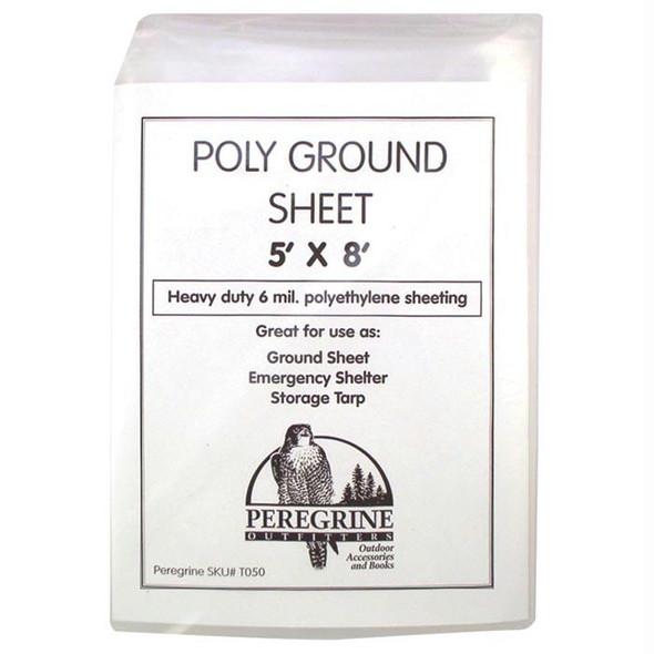 POLY GROUND SHEET 5 X 8