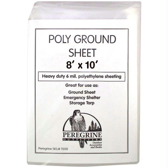 POLY GROUND SHEET 8 X 10