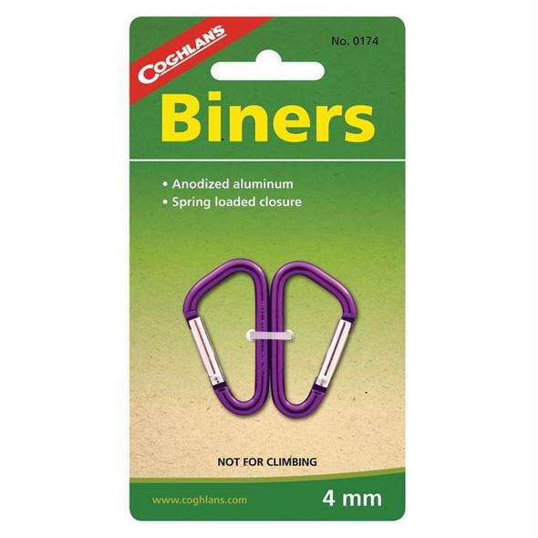 MINI BINERS 4 MM 2 PK