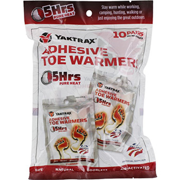 ADHESIVE TOE WARMER 10 PACK