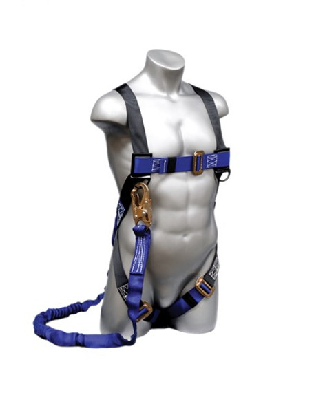 Construction Plus (CP+) Harness Attached 6' NOPAC® Lanyard