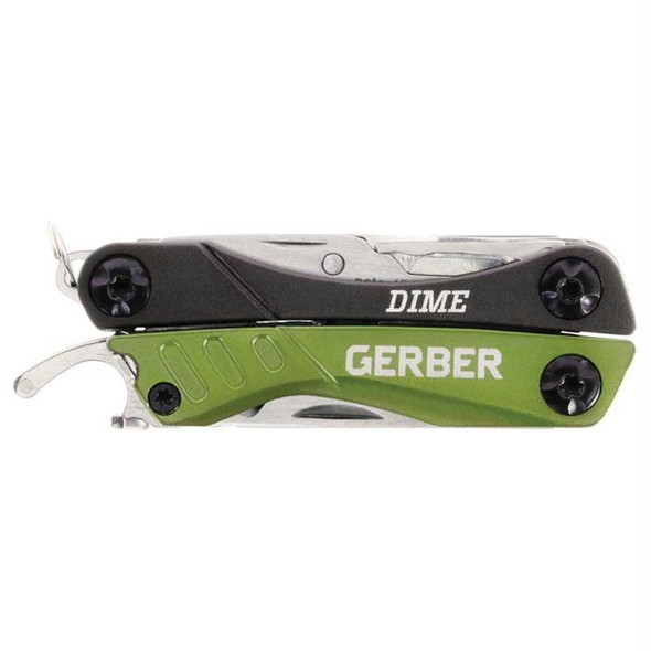 DIME POCKET TOOL GREEN (CLAM)