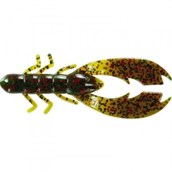 Mister Twister 3.5in Poc it Craw Flippin Blue Red