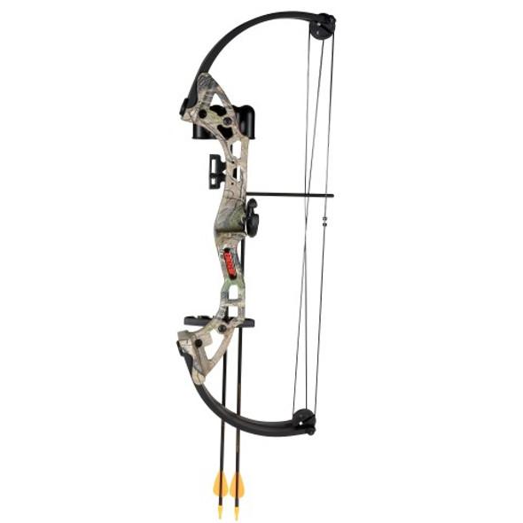 Bear Archery Brave Camo RH Bow Set