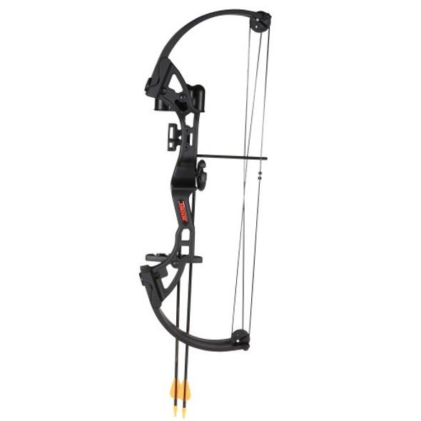 Bear Archery Brave Black RH Bow Set AYS300BR