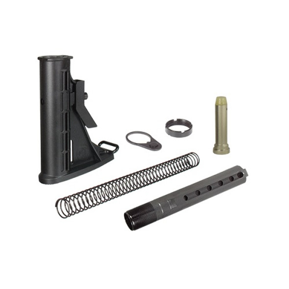 Leapers UTG PRO 6-Position Mil-spec Stock Assembly-Black