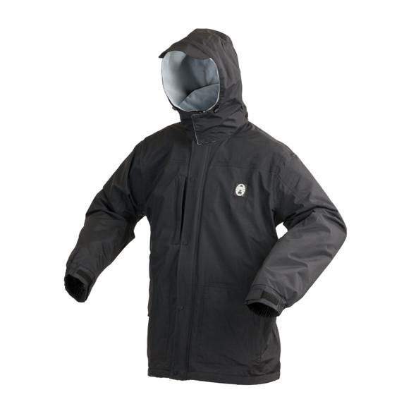 Coleman Apparel Fleece Lined Black Jacket Medium