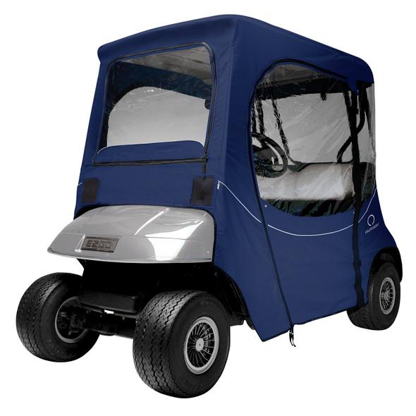 Classic Fairway Golf Cart FadeSafe E-Z-Go Enclosure - Navy