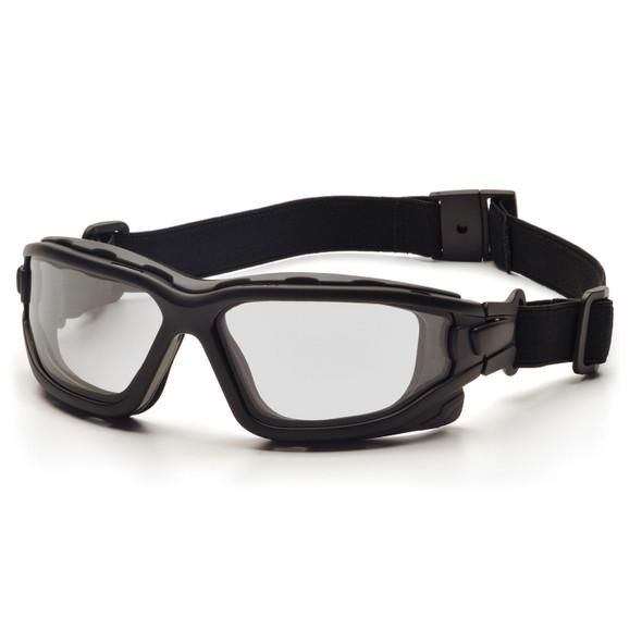 Pyramex I-Force Slim Blk Frame Clear AF Lens Sealed Eyewear