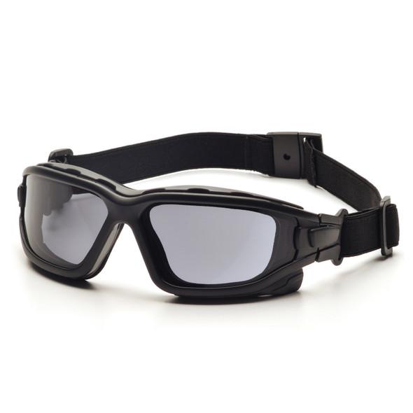 Pyramex I-Force Slim Black Frame Gray AF Lens Sealed Eyewear