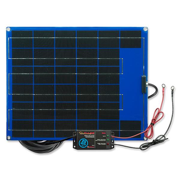 PulseTech 12-Volt Solar Charger Maintainer 25-Watt
