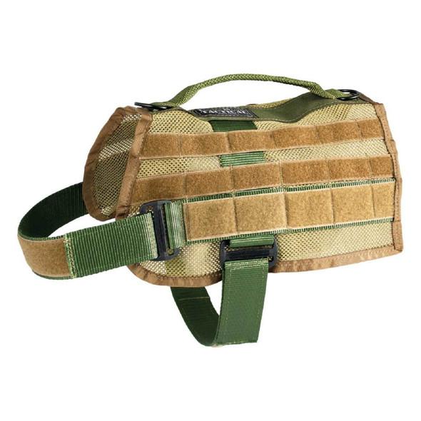 US Tactical K9 MOLLE Vest - Olive Drab - Medium