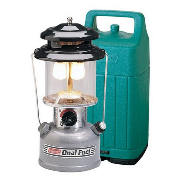 Coleman Dual Fuel Mantel Lantern with Hard Carry Case