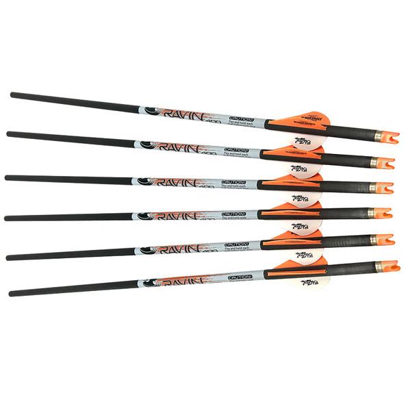Ravin Crossbow Arrows 400 Grain .001 Premium Lighted-3 Pack