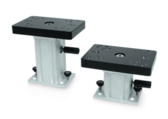 Cannon 6 in. Aluminum Fixed Base Ped Mount - 032853