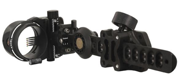 Axcel Hunting Sight Amortech Pro Hd 5 Pin .019 Black - 04494