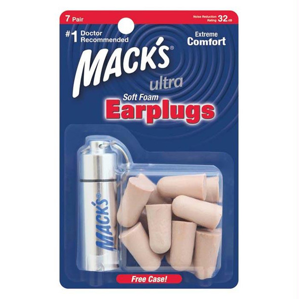 MACK'S ULTRA EARPLUGS 7 PR