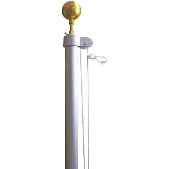 20' Tapered Homesteader Flagpole